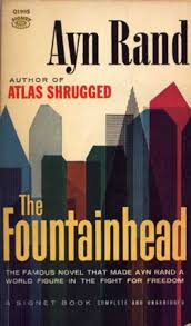 Image result for ayn rand + fountainhead