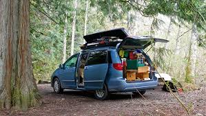 why choose a minivan for a camper conversion unlike suvs or car conversions there is a little more livable space in a minivan