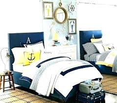 Navy Blue Gold White Bedroom And Dark With Accents – Design Free ...