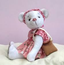 Teddy Bear Sewing Pattern Fascinating Phoebe Dressed Teddy Bear Sewing Pattern Pcbangles