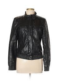 pin it xhilaration women faux leather jacket size l