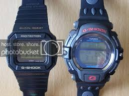 Casio G Shock Size Chart G Shock Size Comparison
