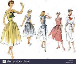 1950 Fashion Designers 1950s Fashion Stock Photos 1950s Fashion Stock Images Alamy