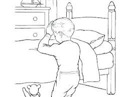 Child Praying Coloring Page Coloring Picture Of Child Praying Child