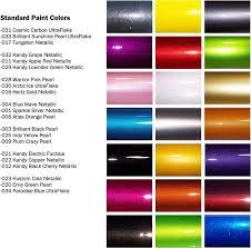 2019 Peterbilt Color Chart Matter Of Fact Automotive Paint Color Charts Online The