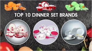 Top 10 Dinner Set Brands to Buy Online in India - LooksGud.in