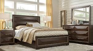 Sofia Vergara Cambrian Court Chocolate 5 Pc King Panel Bedroom - King  Bedroom Sets Dark Wood