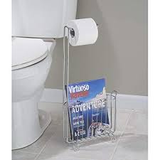Toilet Roll Holder Magazine Rack Inspiration Amazon InterDesign Classico FreeStanding Toilet Paper Holder