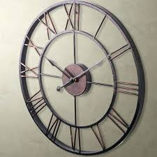 large antique wall clocks modern home large wrought iron wall clock vintage french provincial extra large