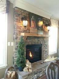 stacked stone fireplaces with mantle view in gallery stacked stone fireplace with floating mantel