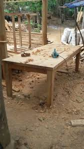 top furniture makers. Teak Dining Table With Solid And Thick Top Had A Handmade Furniture Makers Touch. E
