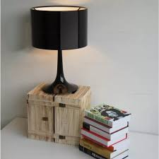 more views spun table lamp