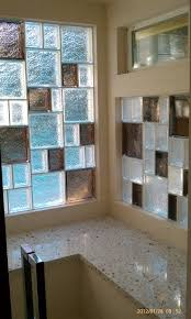 Decorative Windows For Bathrooms Glass Block Windows In Shower Design Ideas Pictures Remodel And