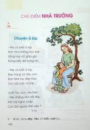 Bài 109: Nhà trường - Sách Tiếng Việt Lớp 1