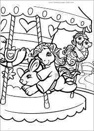 Small Picture My Little Pony color page cartoon characters coloring pages