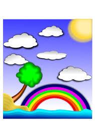 Op kleurplaten 24 hebben we wat je. Afbeelding Regenboog Landschap Gratis Afbeeldingen Om Te Printen Afb 22432