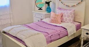 Pin by Audri Harris on Brooklyn room ideas | Purple kids bedrooms, Bed  linens luxury, Purple bedding