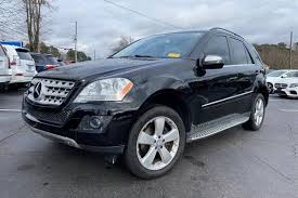 Cargo capacity, all seats in place. Used 2010 Mercedes Benz M Class For Sale Near Me Edmunds