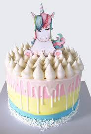 childrens birthday cakes rainbow unicorn cake description