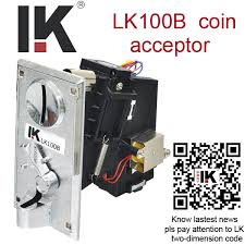 Vending Machines Parts Supplies Simple LK48B CPU Electronic Coin Selector For Vending Machinearcade Game
