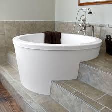 caruso acrylic japanese soaking tub  japanese soaking tubs