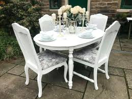 full size of white and grey round dining set with bench room table 4 chairs seats
