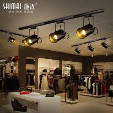 industrial track lighting industrial track lighting zoom. Retro American Industrial Wind Track Lights Creative Living Room Lighting Bar Counter Hall Personalized LED · Zoom