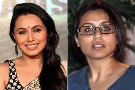 bollywood actress rani mukherjee without makeup pinit
