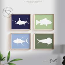 room wall decor childrens fish wall art