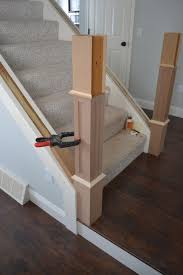 Build Newel Post The Staircase Situation Craftsman Style Newel Post Construction