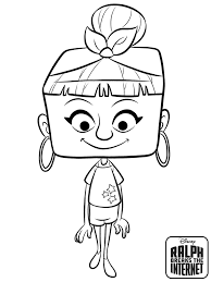 Try to color disney movie to unexpected colors! 15 Free Ralph Breaks The Internet Coloring Pages Printable Coloring Junction