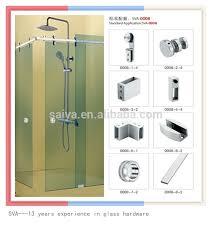 glass shower door hardware bathroom sliding