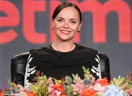 new mother christina ricci promoted her upcoming lifetime miniseries the lizzie bordon