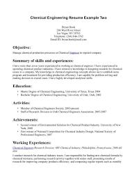 Engineering Internship Resume Template Sample Resume Resume For