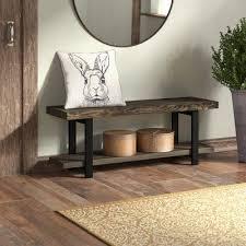 Trent Austin Design Suttle <b>Reclaimed Solid</b> Wood Shelves <b>Storage</b> ...