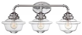 image top vanity lighting. bathroom vanity lighting chromebathroom chrome top bel air light polished image
