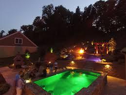 paradise landscape lighting. Ultimate Outdoor Living \u0026 Entertaining Backyard Paradise At Night! Landscape Lighting L