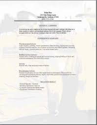 general laborer resume skills general labor resume3 resume objective sample warehouse