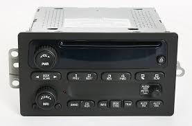 com chevy gmc 2003 2005 truck factory oem radio am fm cd player part number 10357894 cell phones accessories