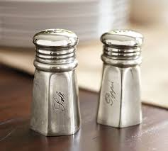 salt and pepper shakers. Antique Silver Sentiment Salt \u0026 Pepper Shakers And 1