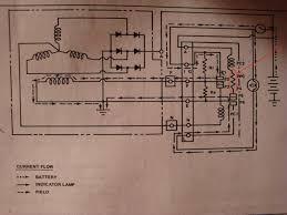 Ford Voltage Regulator To Generator Wiring Diagram Single Phase Generator Wiring Diagram