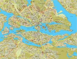 stockholm tourist map  stockholm sweden • mappery