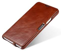 icarer samsung galaxy note 4 vine series leather wallet stand case cover