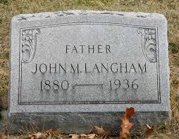 John Marvin Langham (1880-1936) - Find A Grave Memorial