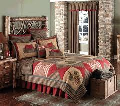 rustic cabin bedding sets cabin patch quilt bedding ensemble quilts log sets rustic bedroom ensembles log
