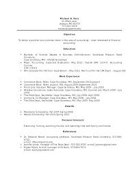 Bank Teller Objective Resume Good Resume Format