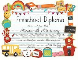 Prek Diploma Prek Diploma Parkify