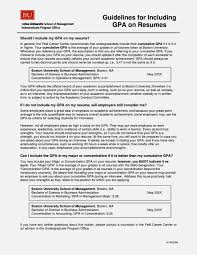 Sample Resume Gpa Gpa On Resume Example Soaringeaglecasinous 8