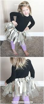 How To Make A No Sew Fabric Tutu Dress The Pinning Mama