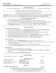 sample personal assistant resume executive assistant resume samples new medical